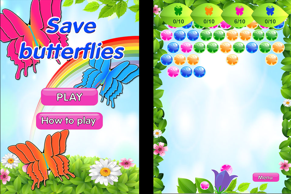 Image Save butterflies