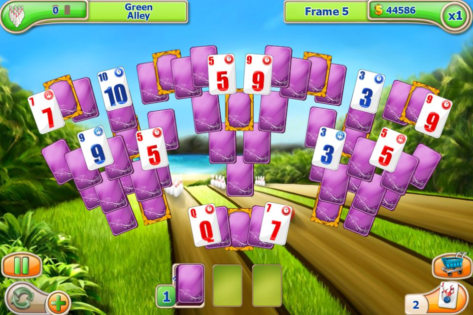 how to play solitaire game in mobile